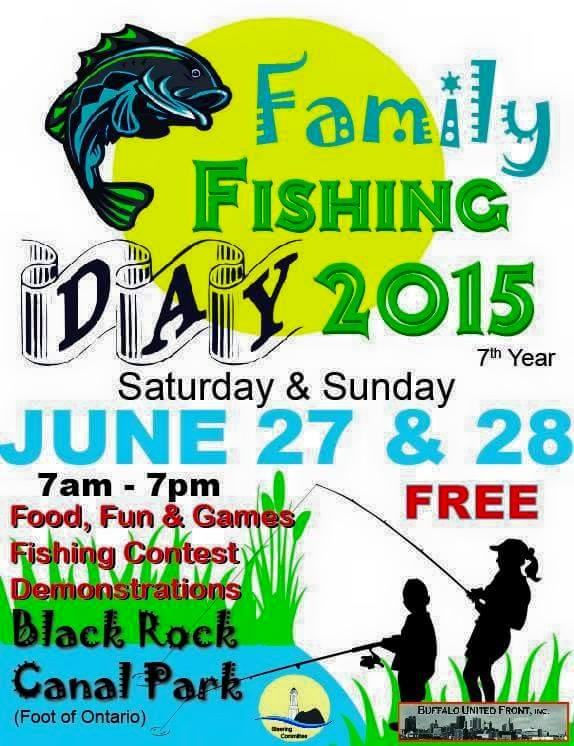 flier for family fishing day 2015